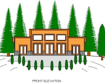 Modern Pole Barn House Study Plan
