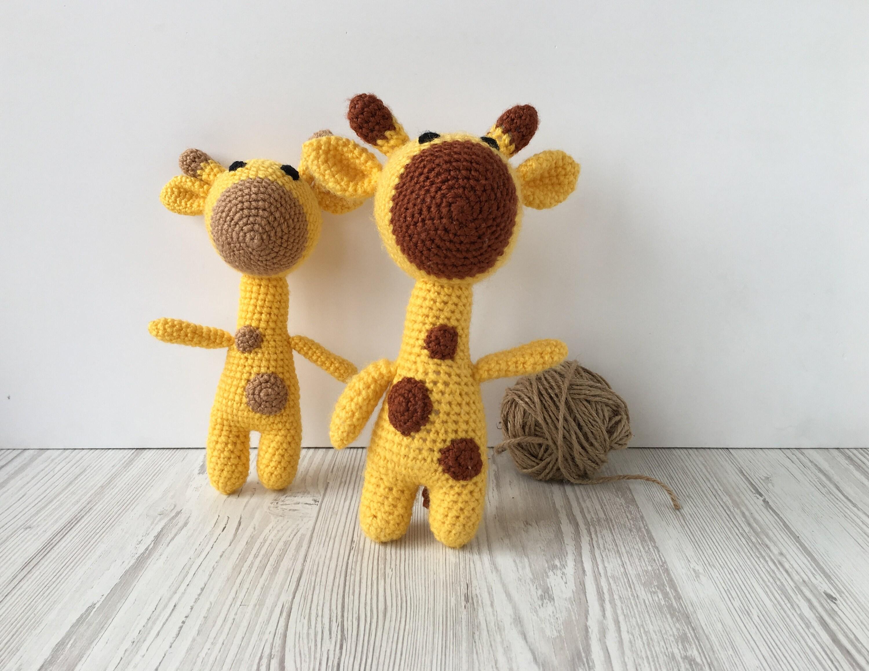 Giraffe Toy Crochet Small Giraffe Stuffed Toy Soft Toy Etsy