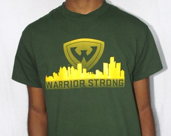 "Wayne State University ""Warrior Strong Detroit Skyline"" Shirt"