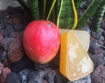 Homemade Mango Soap