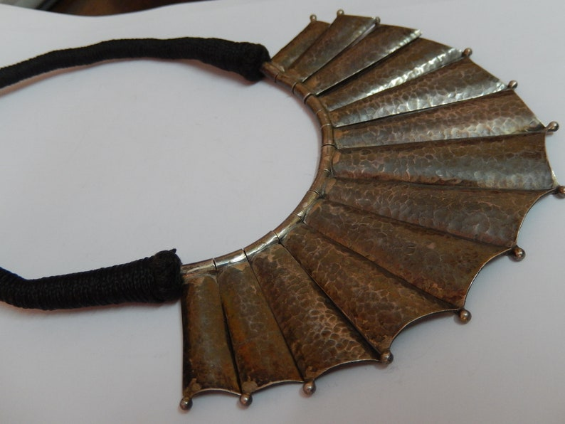 Ancient Style Sterling Silver Hand Made Choker
