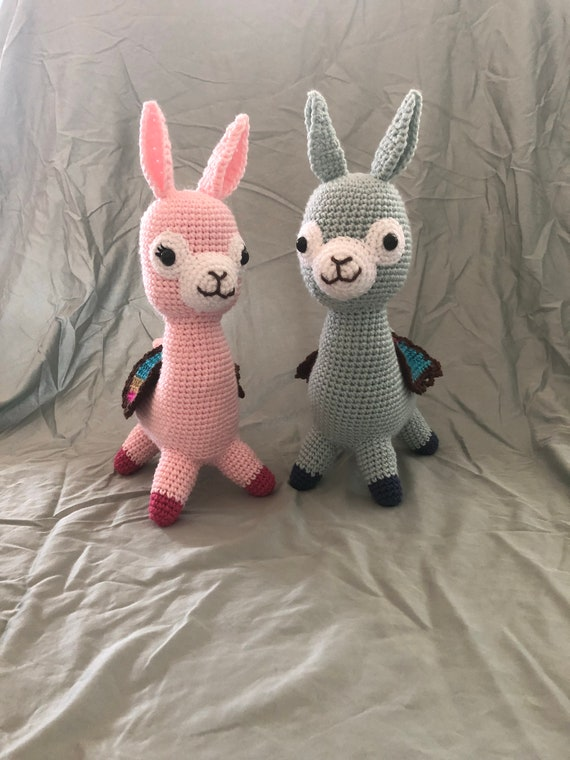 Alpaca Crochet Pattern Etsy