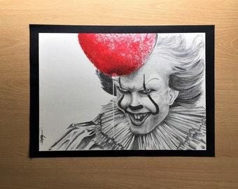Pennywise (Bill Skarsgård) Drawing