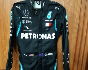 L.Hamlton petronas Racing Printed go karting Suit 2020