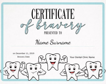 Certificate Pdf Etsy