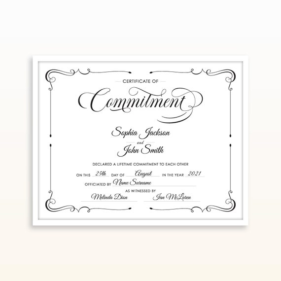 Marriage Certificate Editable Template from i.etsystatic.com