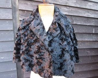 1920s black mohair cape d4033a5ac