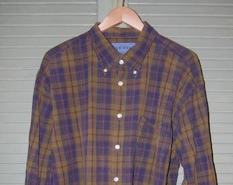 Orvis Plaid Shirt/ 2X