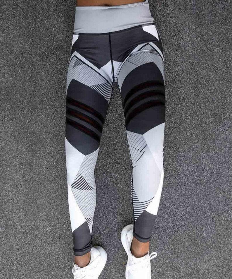 Print Sport Leggings für Frauen Fitness Kleidung Hohe ...