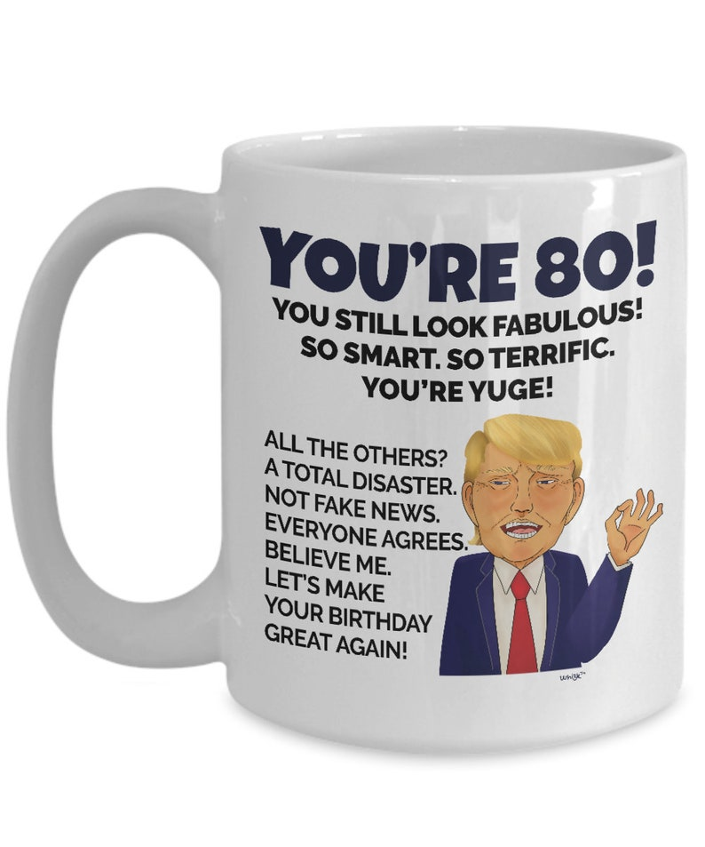 80th Birthday Mug 80 Year Old Gifts For Men Women