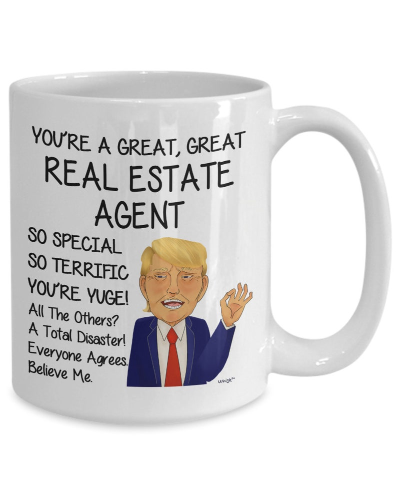 Real Estate Agent Gift Donald Trump Mug