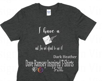 hot sale online 4365f 4f3a4 Dave ramsey shirt | Etsy