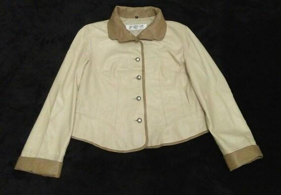 Vintage Balmain Paris Women Leather Jackets Coats