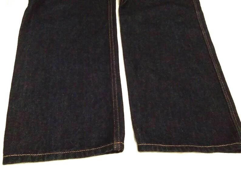 Browny Japanese Brand Dark Blue Indigo Denim Jeans Waist 32Japanese Brand Denim Jeans
