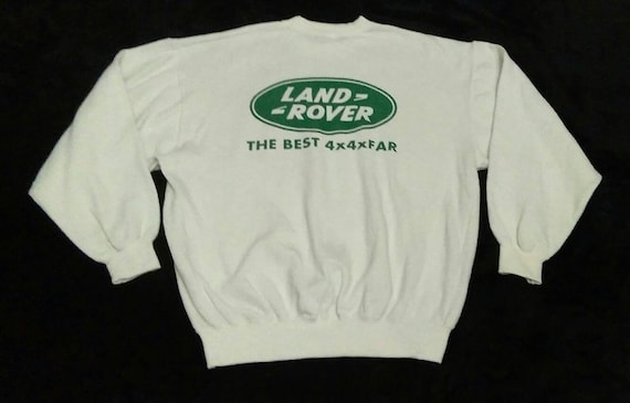 Vintage 90s Land Rover The Best 4x4 So Far Promo W