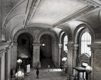 Astor Hall, NYC Public Library