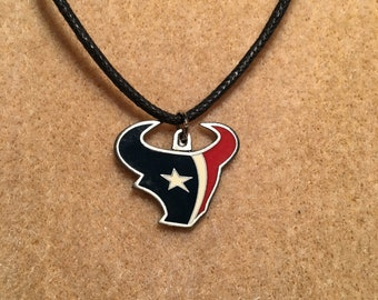Houston Texans Adjustable Cord Necklace