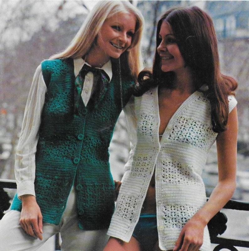 Uncinetto Lungo Cardigan Crochet Vintage Cardigan Cardigan Etsy