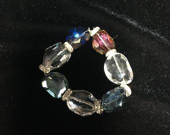 Sparkle and shine chunky stretch bracelet.