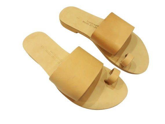 0eaefd34a73c Ancient Greek Style Leather Sandals Roman Handmade Womens