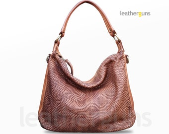 ALESSIA LEATHER SHOULDER Bag 86aaee705f50d