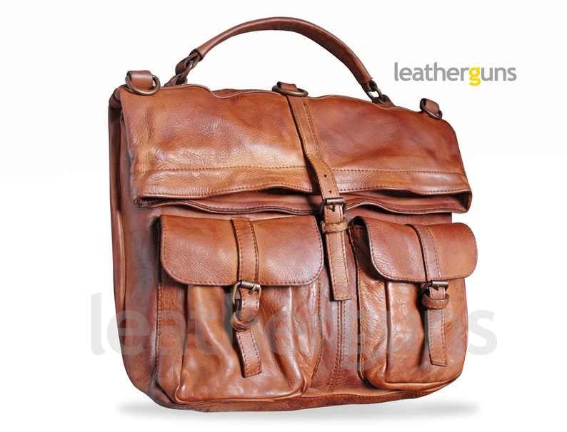 7dfb5ce4bfe0 MARCO LEATHER Convertible Backpack Shoulder bag Crossbody