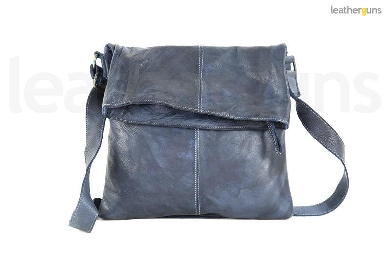 Handmade Italian Leather Bag Leather Messenger Italian Leather Bag Woman Brown Bag SANDRA LEATHER SHOULDER Bag Casual Leather Bag