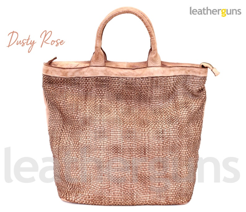 Weave Leather Bag Hobo Leather Bag Soft Woven Leather Tote AGATA BLUE LEATHER Bag Woman Soft Leather Bag Woven Leather Cross Body Bag