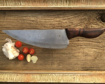 Handmade kitchen knife one-off / hand crafted chef's knife - Unique piece - Vay