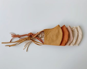 FACE MASK - Organic cotton and natural dye