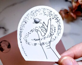"3"" Reach For the Stars Sticker"