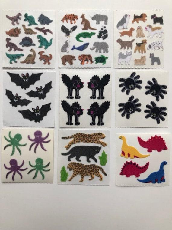 Sandylion Stickers Vintage Fuzzy FROGS 1 mod FROG
