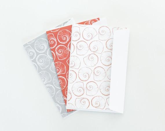 Trio de cartes de vœux borlicocos