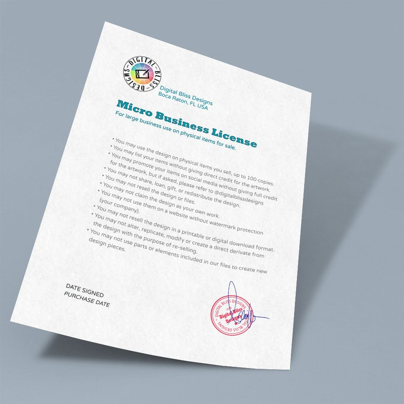Micro Business Home-Based Single Owner License image 0
