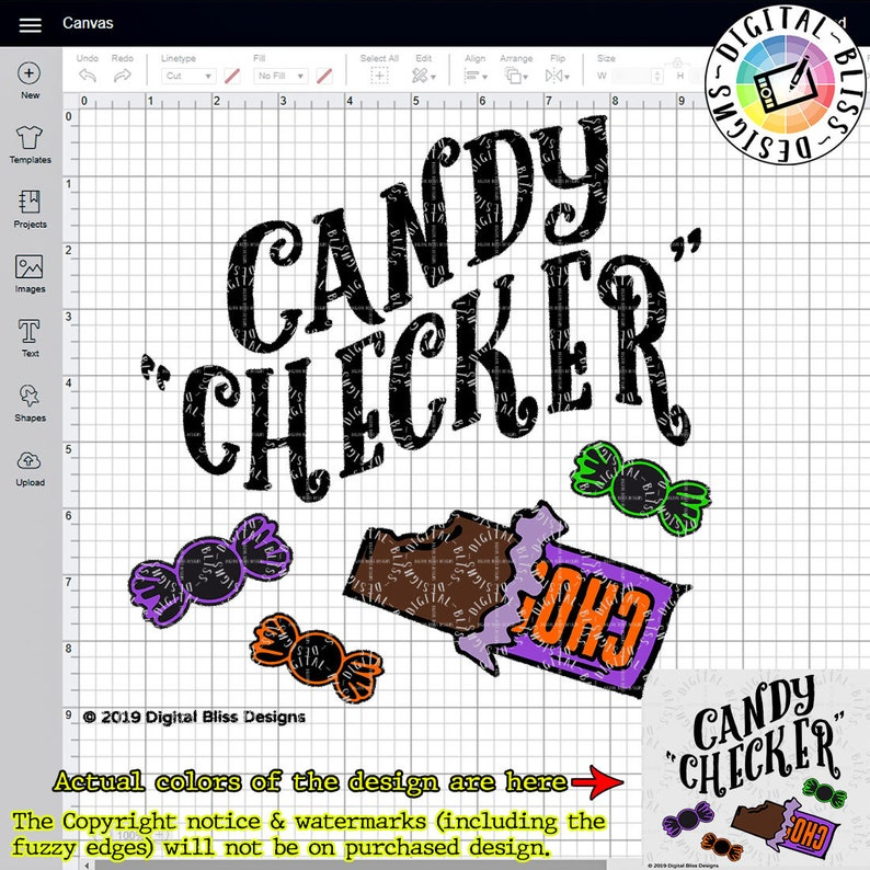 SVG Candy Checker Mom Dad Trick or Treat Halloween image 0