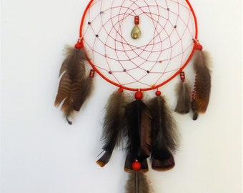 Handmade dream catcher energy
