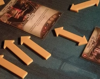Arkham Horror Compatible Location Arrows / Markers [Limited PROTOTYPE]
