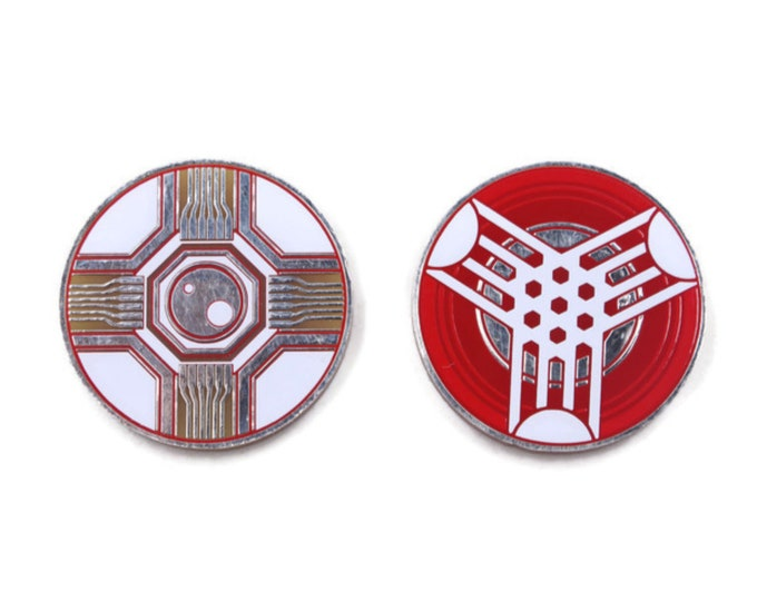 Virus (Stun) / Power Tokens Set. Fan-Made Tokens Compatible with Android: Netrunner and KeyForge