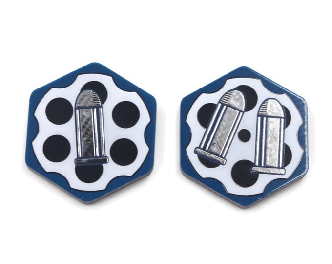 Ammo Tokens, Compatible with Arkham Horror LCG for the Mythos. Ammunition and bullet markers.