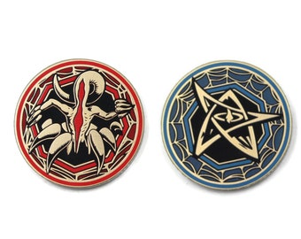 Arkham Horror Compatible Chaos Tokens. Fan-Made Ala Carte Supplements