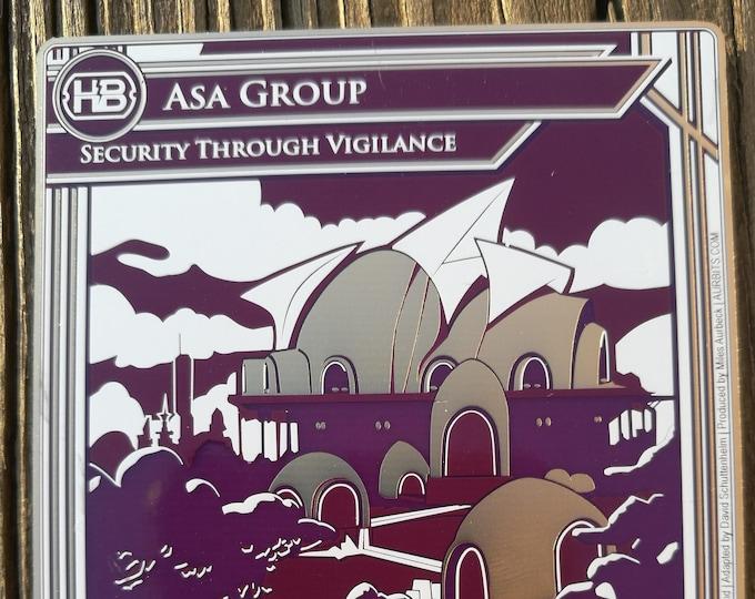 ASA Premium PCB ID [S2] Netrunner Alt-Art