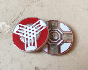 Virus / Power Tokens Set. Compatible Android: Netrunner (And KeyForge)