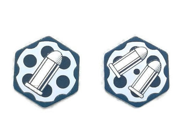 Ammo Tokens for Guardian/Rogue, Dual Sided, Fan-Made Tokens Compatible with Arkham Horror
