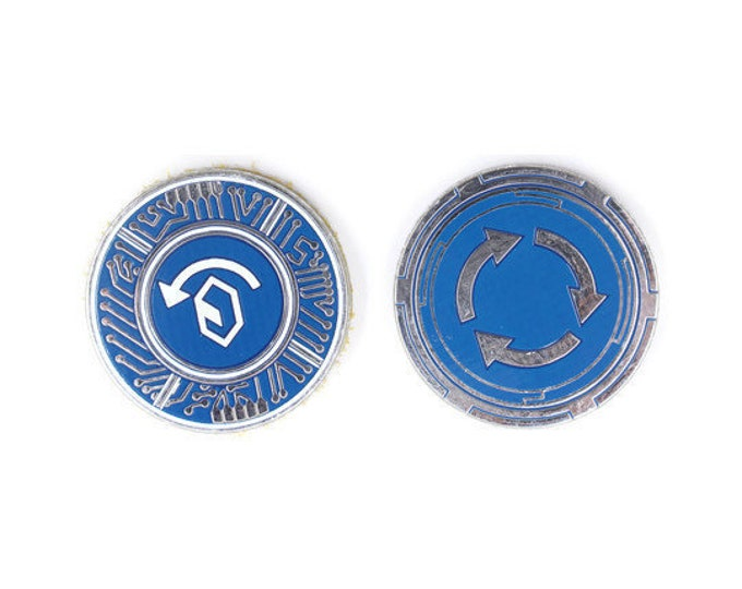 Recurring Credits, Pack of 5, Fan-Made Tokens Compatible with Netrunner