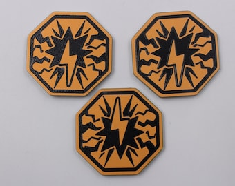KeyForge Stun Tokens, Fan Made