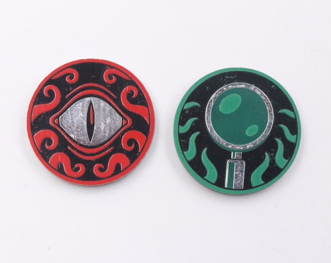 Clue/Doom Tokens, Fan-Made, Compatible with Arkham Horror