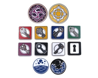 Arkham Horror LCG Innsmouth Token Bundle | Fan-Made Compatibles from Aurbits for the Mythos