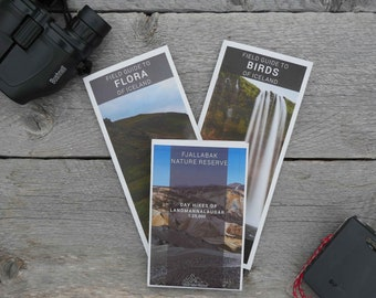 Waterproof Map of Landmannalaugar and Iceland Field Guides (Physical Product)