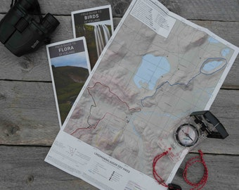 Landmannalaugar Day Hike Guide and Both Iceland Field Guides