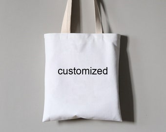 Customized Printed Short-pile Velvet Tote